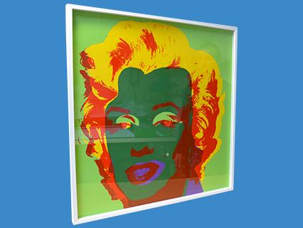 Andy Warhol 'Marilyn' framed by Best4Frames