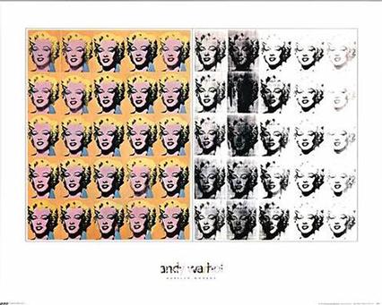 Andy Warhol 'Marilyn Diptych'