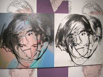 Andy Warhol tries to figure himself out